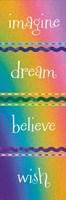 Kid Dreams Rainbow Framed Print