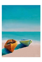 Beach Boats Fine Art Print