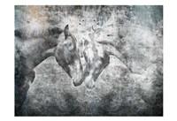 Love Horses Framed Print