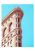 Flat Iron Curves 1 Framed Print