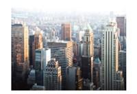 Hazy NYC Skyline Fine Art Print