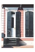 NOLA Doors 1 Framed Print