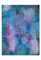 Bird And Hydrangea Framed Print