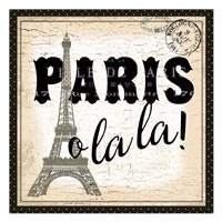 Paris Ooh La la Fine Art Print