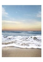 Sunrising Wave Curl Fine Art Print