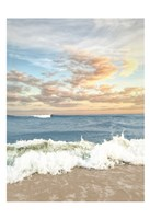 Dawn Of The Crashing Waves Fine Art Print