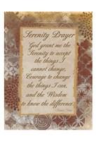 Godly Serenity Framed Print