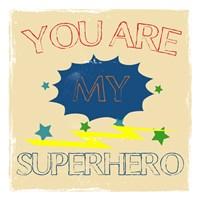 My Hero Framed Print