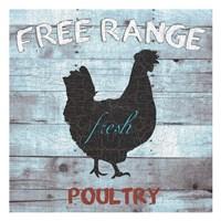 Free Range Poultry Framed Print