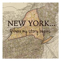New York Story Fine Art Print