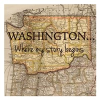 Story Washington Fine Art Print