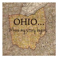Story Ohio Fine Art Print