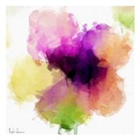 Watercolor Floral I Framed Print