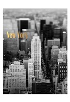 Gold NY Fifth Ave Fine Art Print