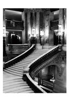 BW Grand Stairs Fine Art Print