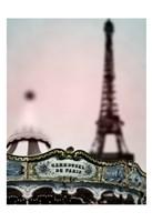 Carousel Tower Fine Art Print