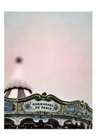 Pink Paris Carousel Fine Art Print