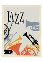 Jazz 1 Framed Print
