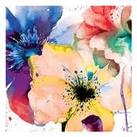 Color Flowers 2 Framed Print