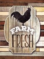 Farm Fresh Framed Print