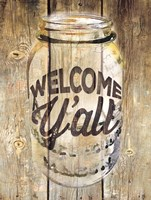 Welcome Ya'll Fine Art Print