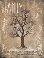 Family - Like Branches Of A Tree Fine Art Print