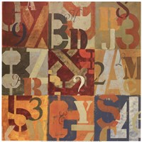 Typecast Fine Art Print