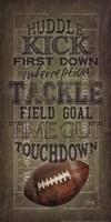 Football Talk Fine Art Print