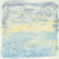 Murmured Landscape I Framed Print