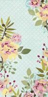 Sangria Garden II Framed Print