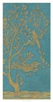 Topaz Chinoiserie II Framed Print