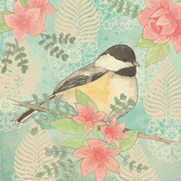 Chickadee Day I Fine Art Print