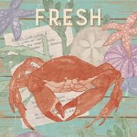 Fresh Seafood I Framed Print