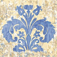 Damask Stamp I Fine Art Print