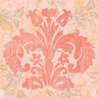 Damask Stamp II Fine Art Print