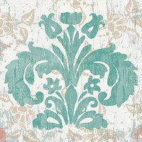 Damask Stamp III Fine Art Print