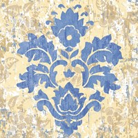 Damask Stamp IV Fine Art Print