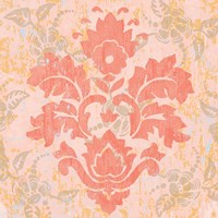 Damask Stamp V Fine Art Print