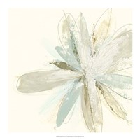 Floral Impasto IV Framed Print