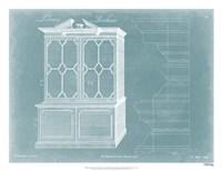 Chippendale Library Bookcase I Fine Art Print