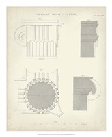 Greek & Roman Architecture VI Fine Art Print