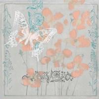 Gray Garden I Framed Print