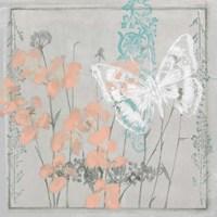 Gray Garden II Framed Print