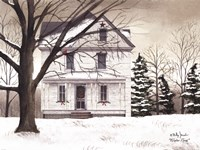 Winter Porch Fine Art Print