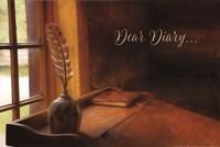 Dear Diary Fine Art Print