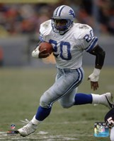 Barry Sanders 1989 Action Fine Art Print