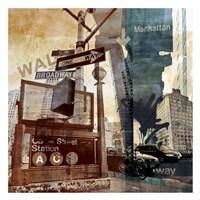 Wall Street 6 Fine Art Print