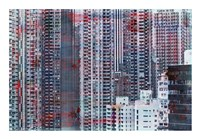 Hong Kong Sky 7 Framed Print