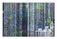 Hong Kong Sky 6 Framed Print