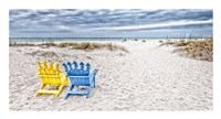 Beaching It Fine Art Print